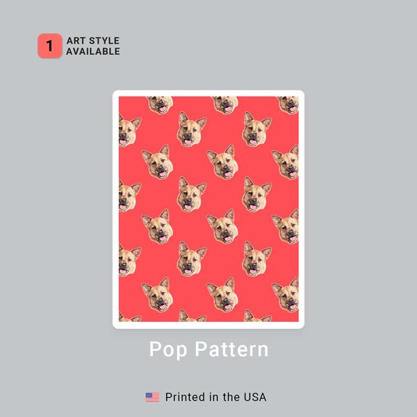 Custom Pet Art Socks - Pop Your Pup!™