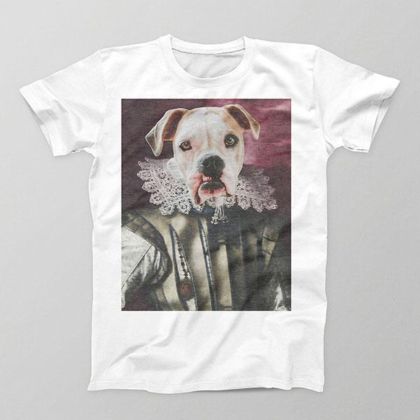 Like My Frilly Things - Mens Crew - Custom pet art of your dog or cat by pop-your-pup