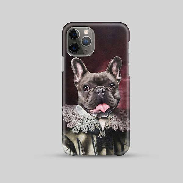 Like My Frilly Things - Phone Case - Custom pet art of your dog or cat by pop-your-pup