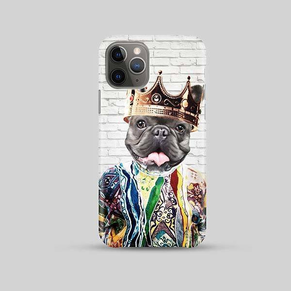 Notorious D.O.G. - Phone Case - Custom pet art of your dog or cat by pop-your-pup