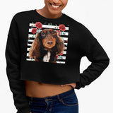 Original Pet Pop Art Crop Sweatshirt - Pop Your Pup!™