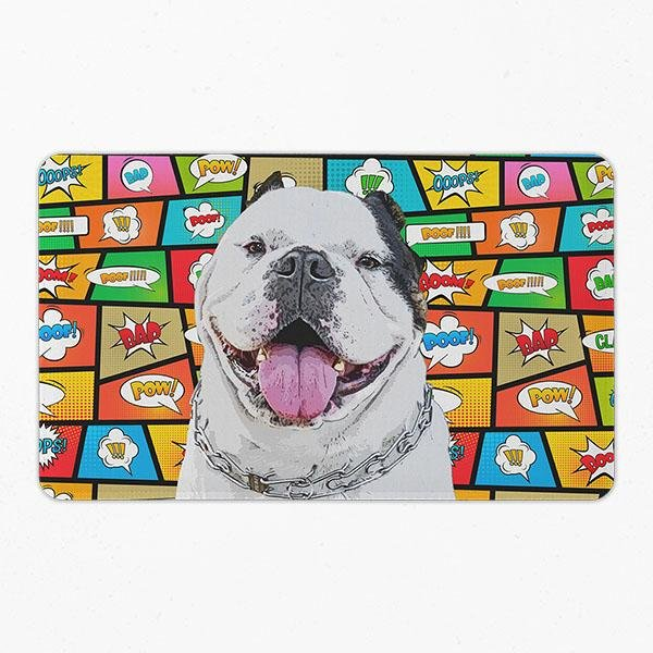Original Pet Pop Art Pet Placemats - Pop Your Pup!™
