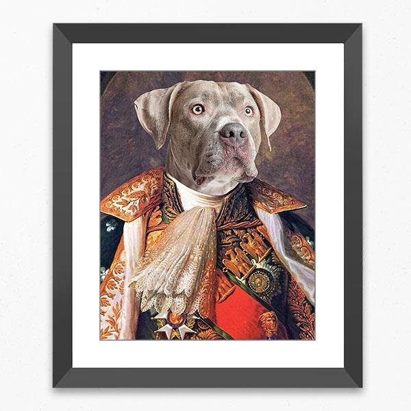 Pop Icon Framed Gallery Print - Pop Your Pup!™