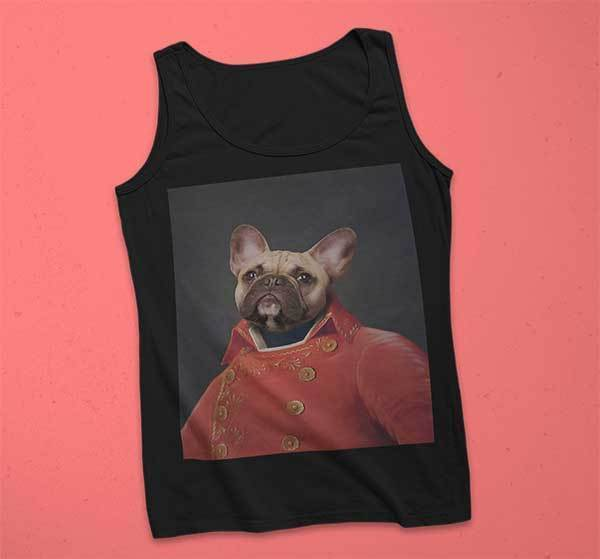 Pop Icon Mens Tank - Custom pet art of your dog or cat by pop-your-pup
