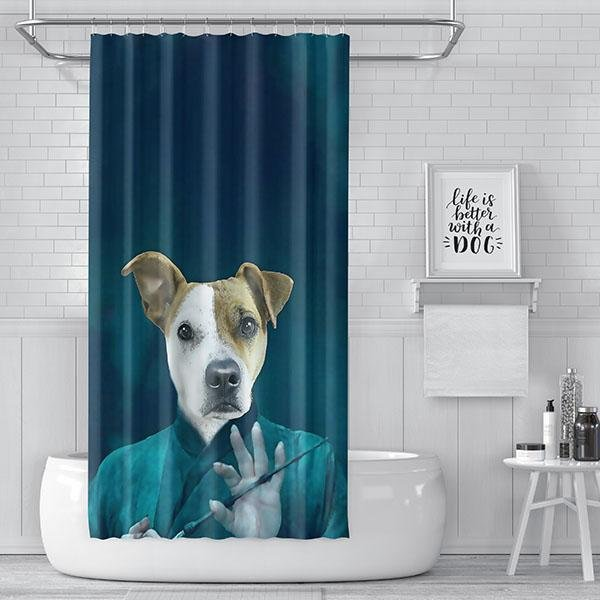 Pop Icon Shower Curtain - Pop Your Pup!™