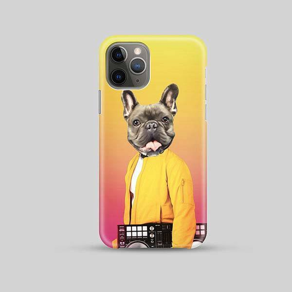 Pop Star - Phone Case - Custom pet art of your dog or cat by pop-your-pup