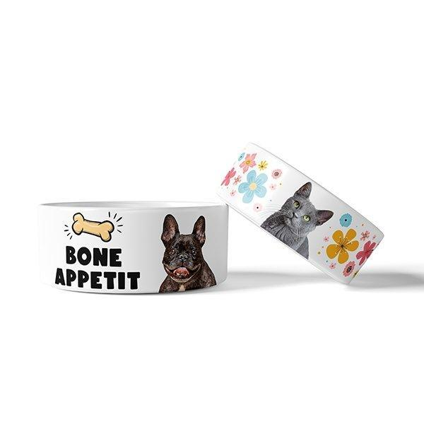 Custom Pet Art Bowls - Pop Your Pup!™