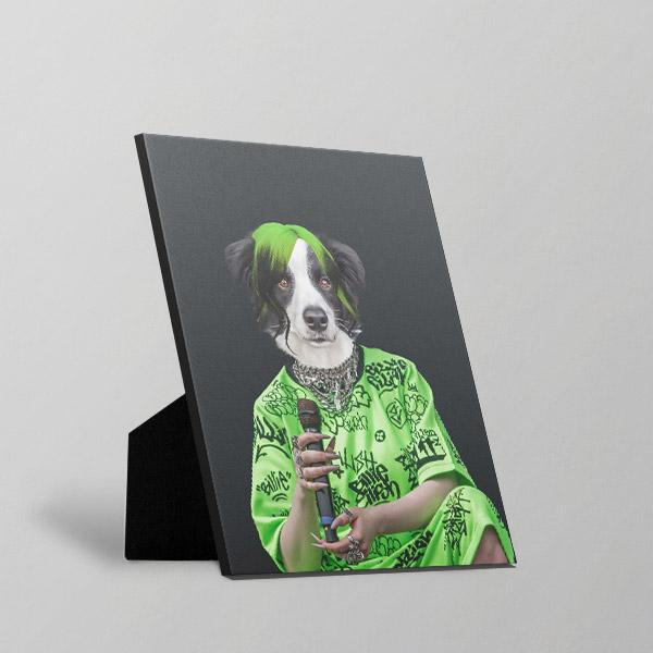 Bad Boy - Standing Canvas by Pop Your Pup
