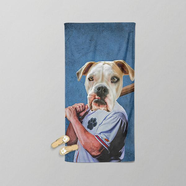 Baseball - Beach Towel - Pop Your Pup Renaissance Costumes