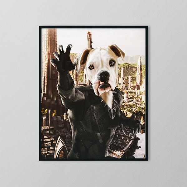 Black Borker - Framed Prints