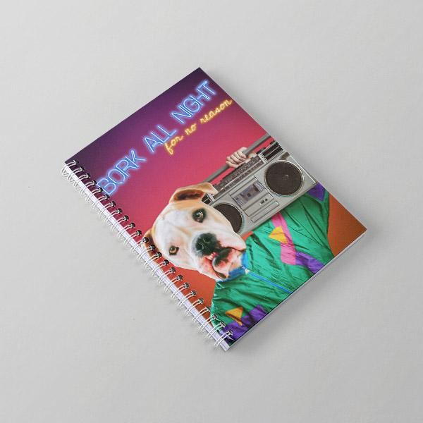 Boomin - Notebook - Pop Your Pup Renaissance Costumes