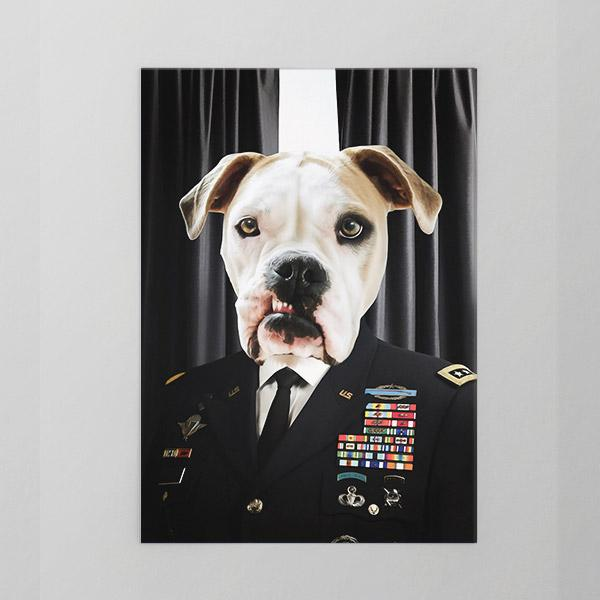 Boot Licker - Unframed Print - Pop Your Pup Colonial Art
