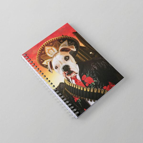 El Borko - Notebook - Pop Your Pup Renaissance Costumes