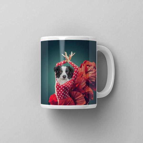 Flamenco Dancer - Coffee Mug - Pop Your Pup Renaissance Costumes