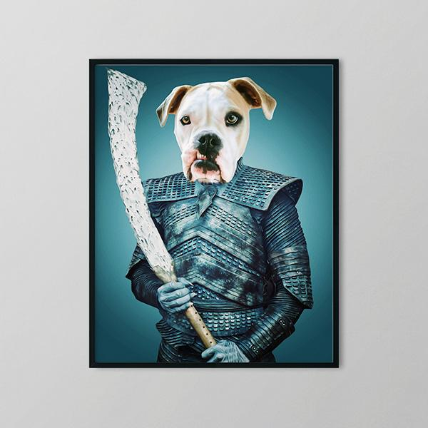 Night Barker - Framed Prints