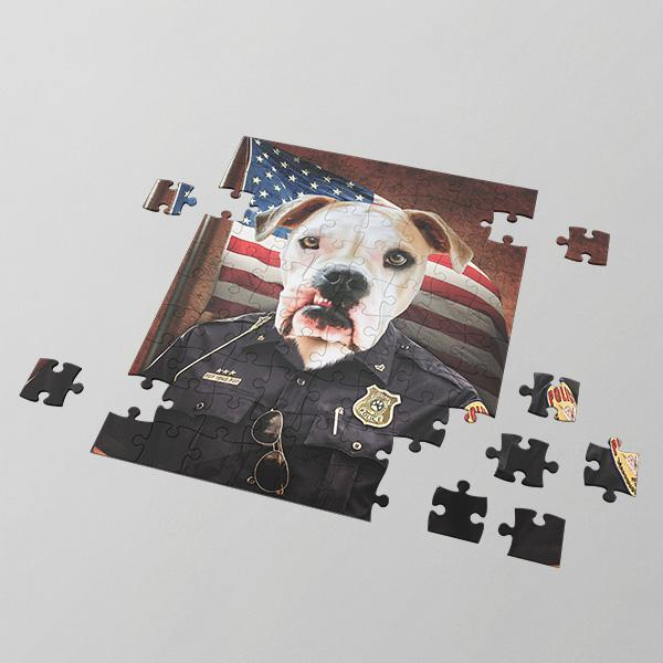 Police Pawfficer - Puzzles