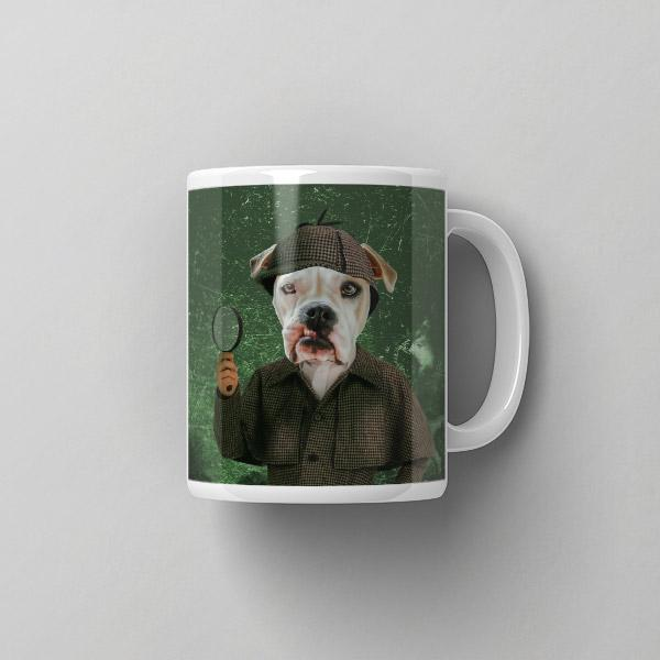 Sherlock Holmes - Coffee Mug - Pop Your Pup Renaissance Costumes