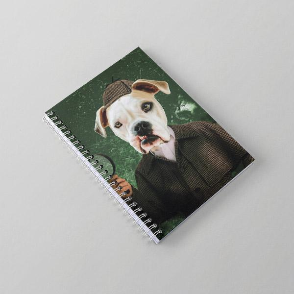 Sherlock Holmes - Notebook - Pop Your Pup Renaissance Costumes