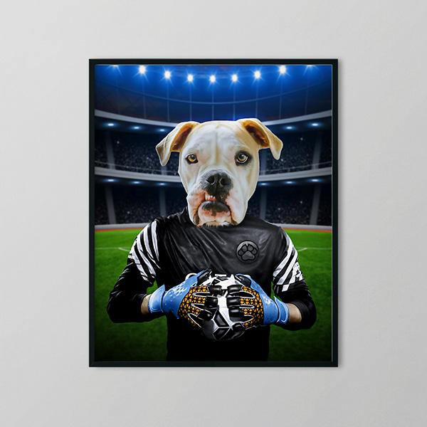 Soccer Player - Framed Prints