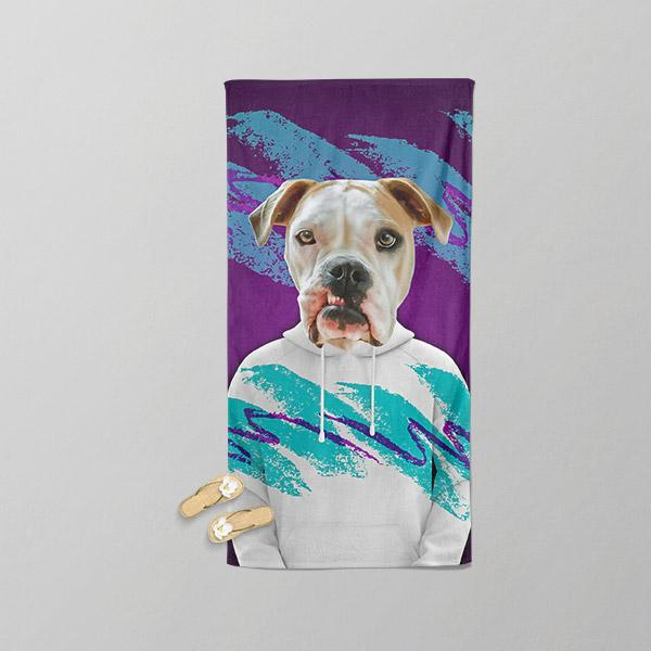 Solo - Beach Towel - Pop Your Pup Renaissance Costumes