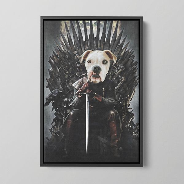 The Iron Throne - Framed Canvas