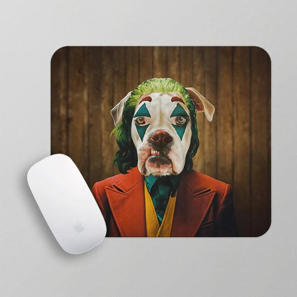 Why So Serious - Mousepad by Pop Your Pup