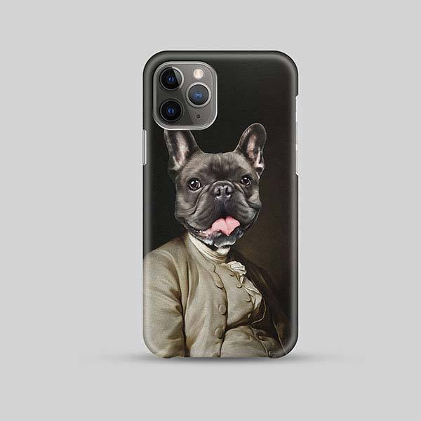 Robusto Borko - Phone Case - Custom pet art of your dog or cat by pop-your-pup