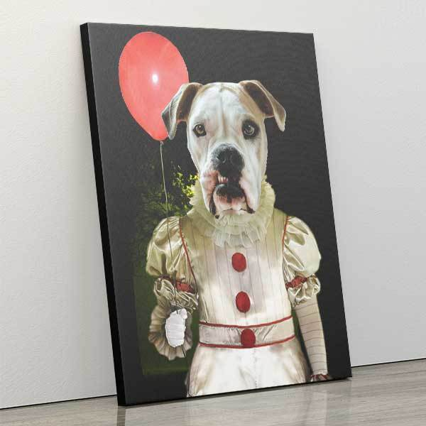 S-IT - Canvas Wrap - Custom pet art of your dog or cat by pop-your-pup