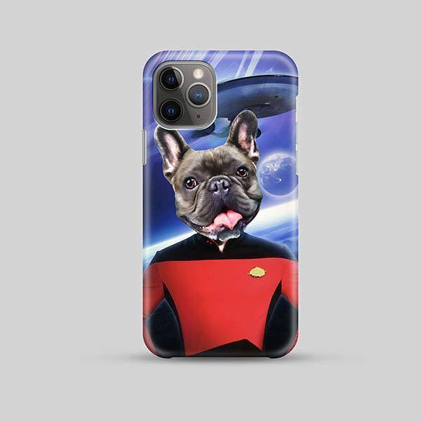 Star Bork - Phone Case - Custom pet art of your dog or cat by pop-your-pup