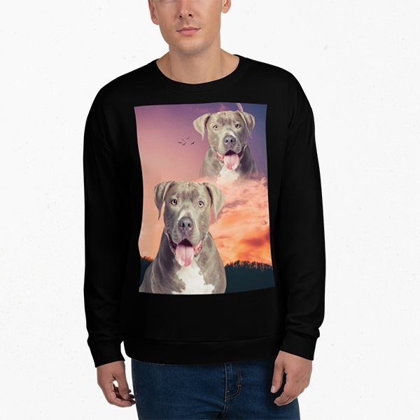 Super Portrait Unisex Sweater - Pop Your Pup!™