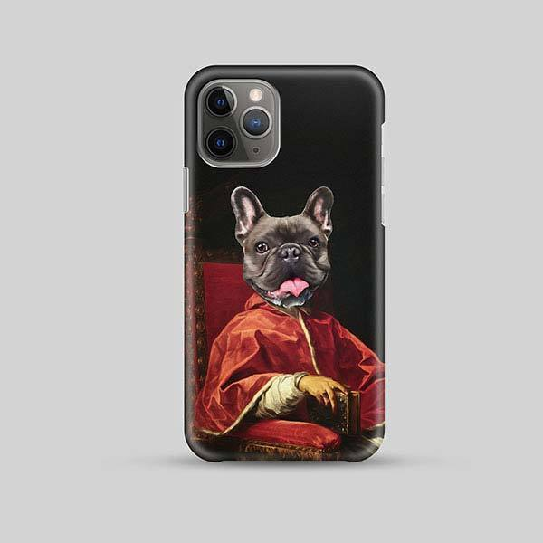 Your Highness - Phone Case - Custom pet art of your dog or cat by pop-your-pup