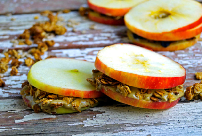 SunButter Apple Sandwich