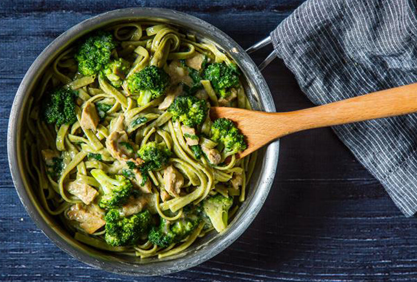 One Pot Broccoli Alfredo