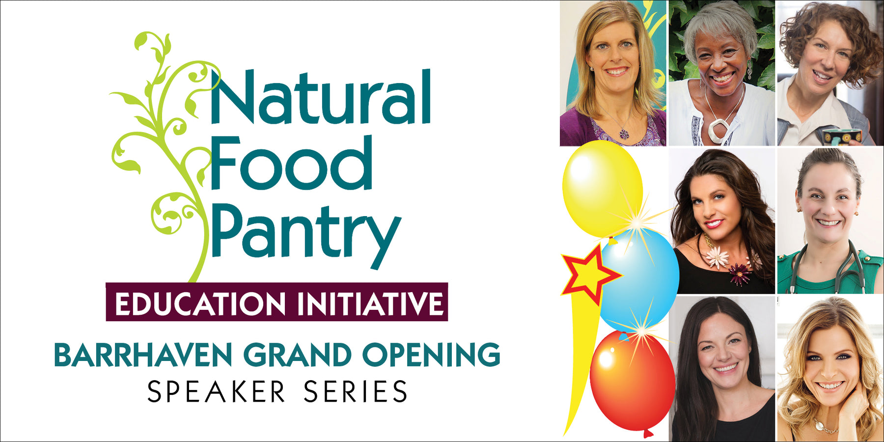 Mar 24 & 25:  GRAND OPENING SPEAKER SERIES - NFP Barrhaven