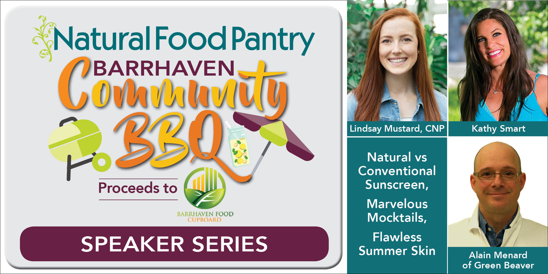 Jun 21:  NFP Barrhaven Community BBQ - Speaker Series