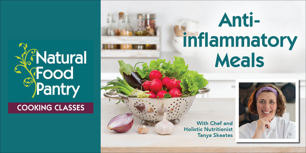 Oct 11: NFP Cooking Class: Anti-inflammatory Meals