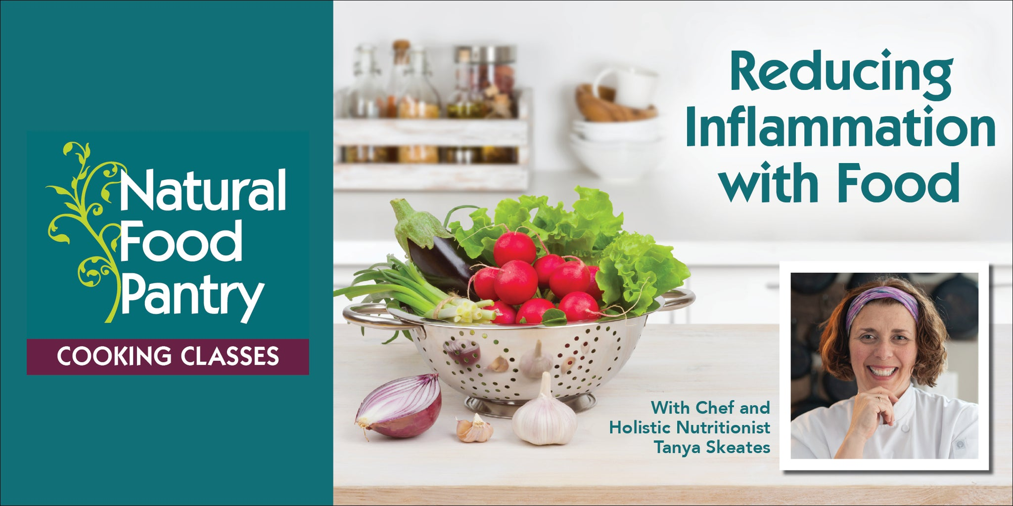 Jun 16: NFP COOKING CLASS:  Reducing Inflammation with Food