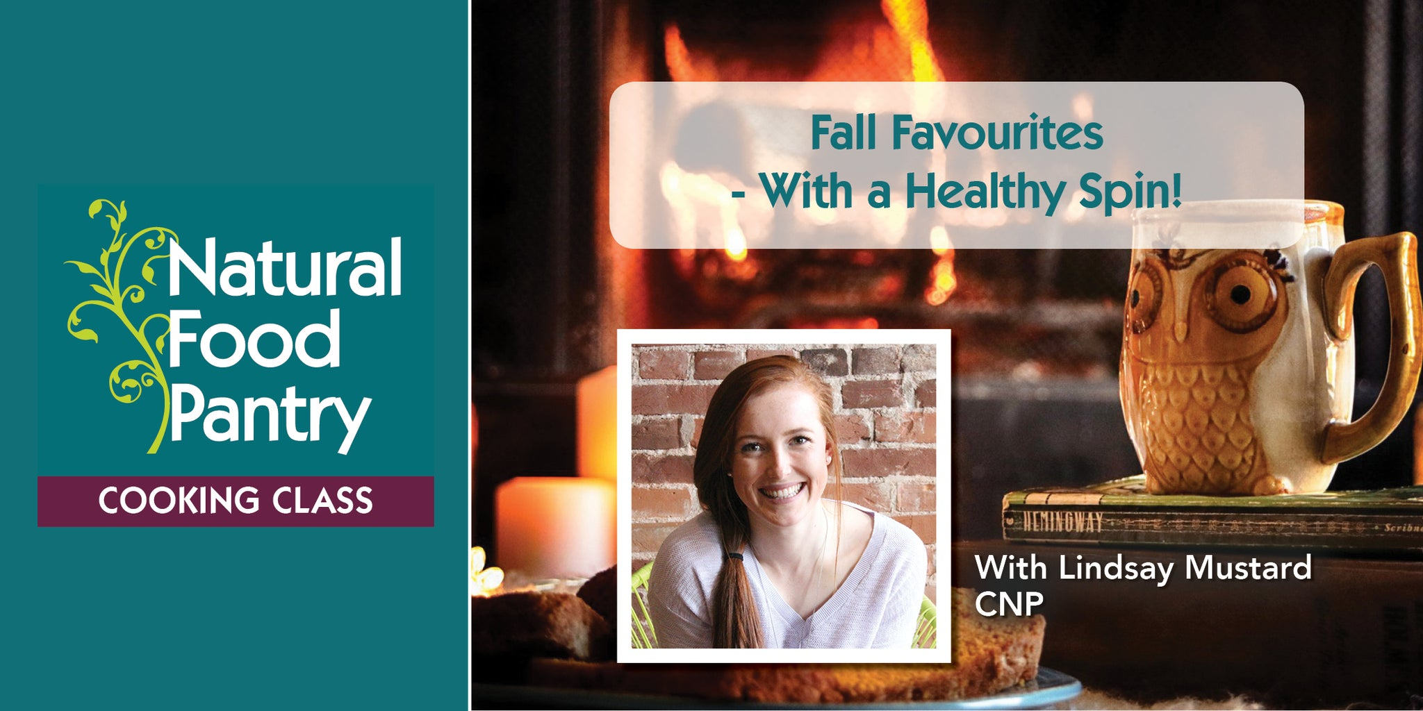 Nov 9: NFP Cooking Class: Fall Favourites - With a Healthy Spin!