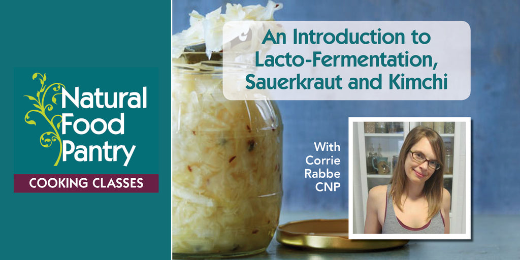 Apr 6: An Introduction to Lacto-Fermentation - Sauerkraut and Kimchi