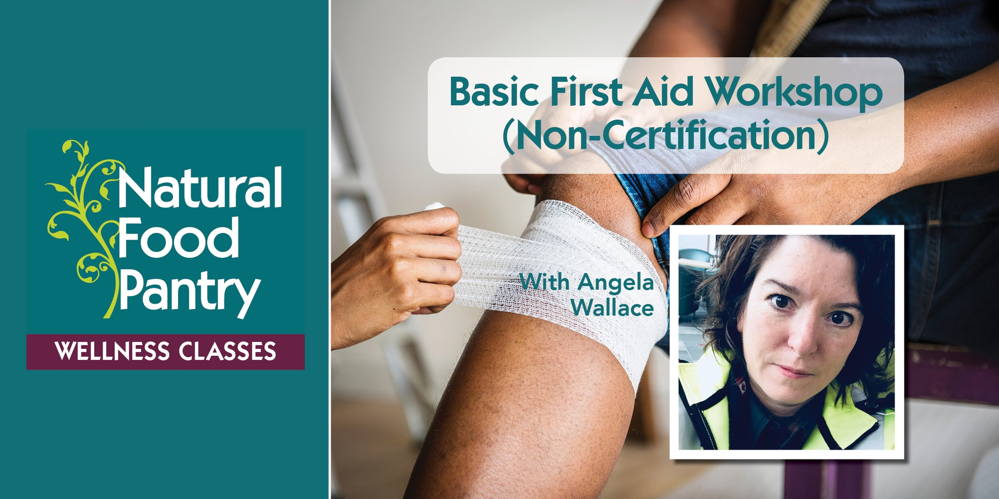 May 1: Basic First Aid workshop (non-certification)