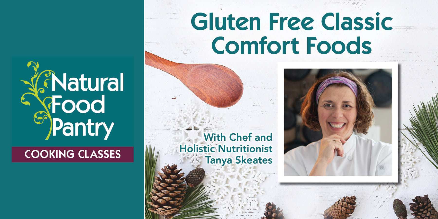 Jan 26: Cooking Class:  Gluten Free Classic Comfort Foods