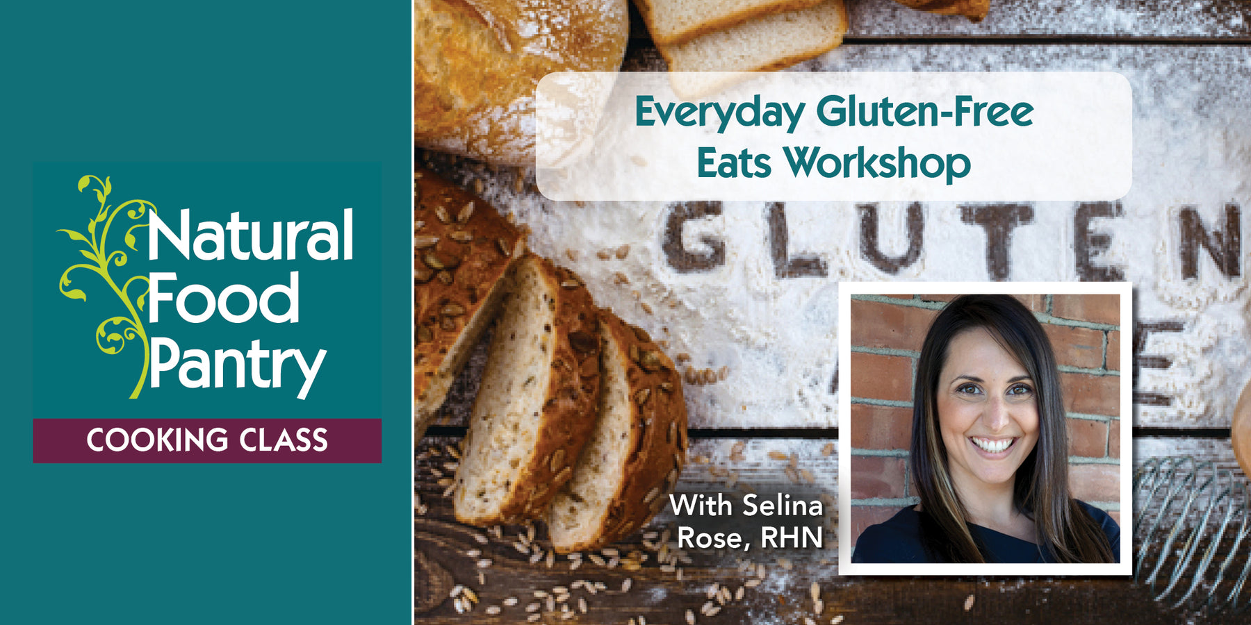 Oct 19: NFP Cooking Class:  Everyday Gluten-Free Eats Workshop