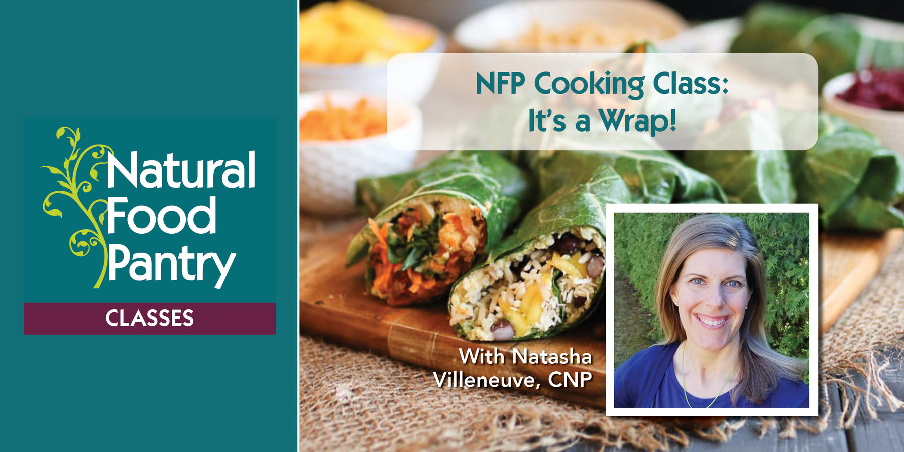 Sept 25:  NFP Cooking Class:  It's a Wrap!