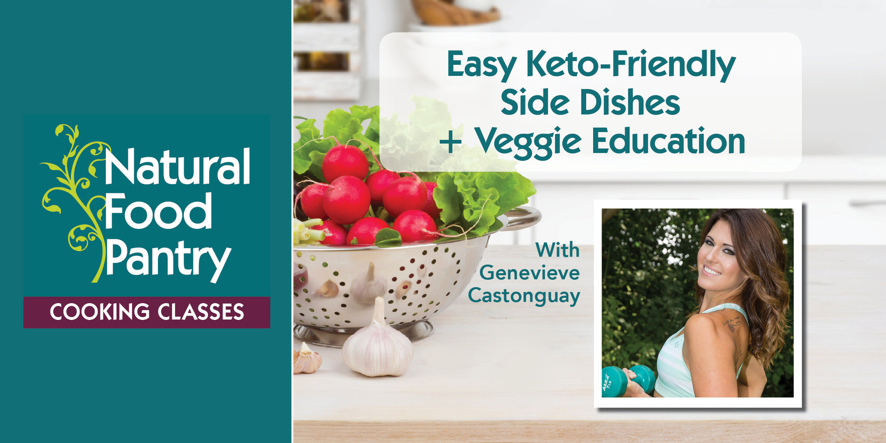 May 11: NFP Cooking Class: Easy Keto-Friendly Side Dishes + Veggie Education