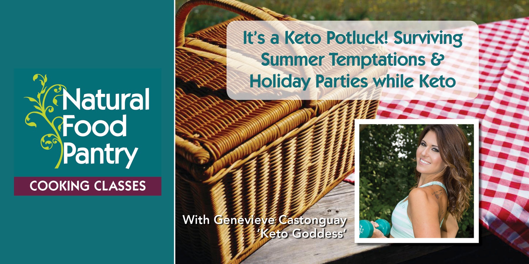 Jun 27: NFP Cooking Class: It's a Keto Potluck! Surviving Summer Temptations & Parties while Keto