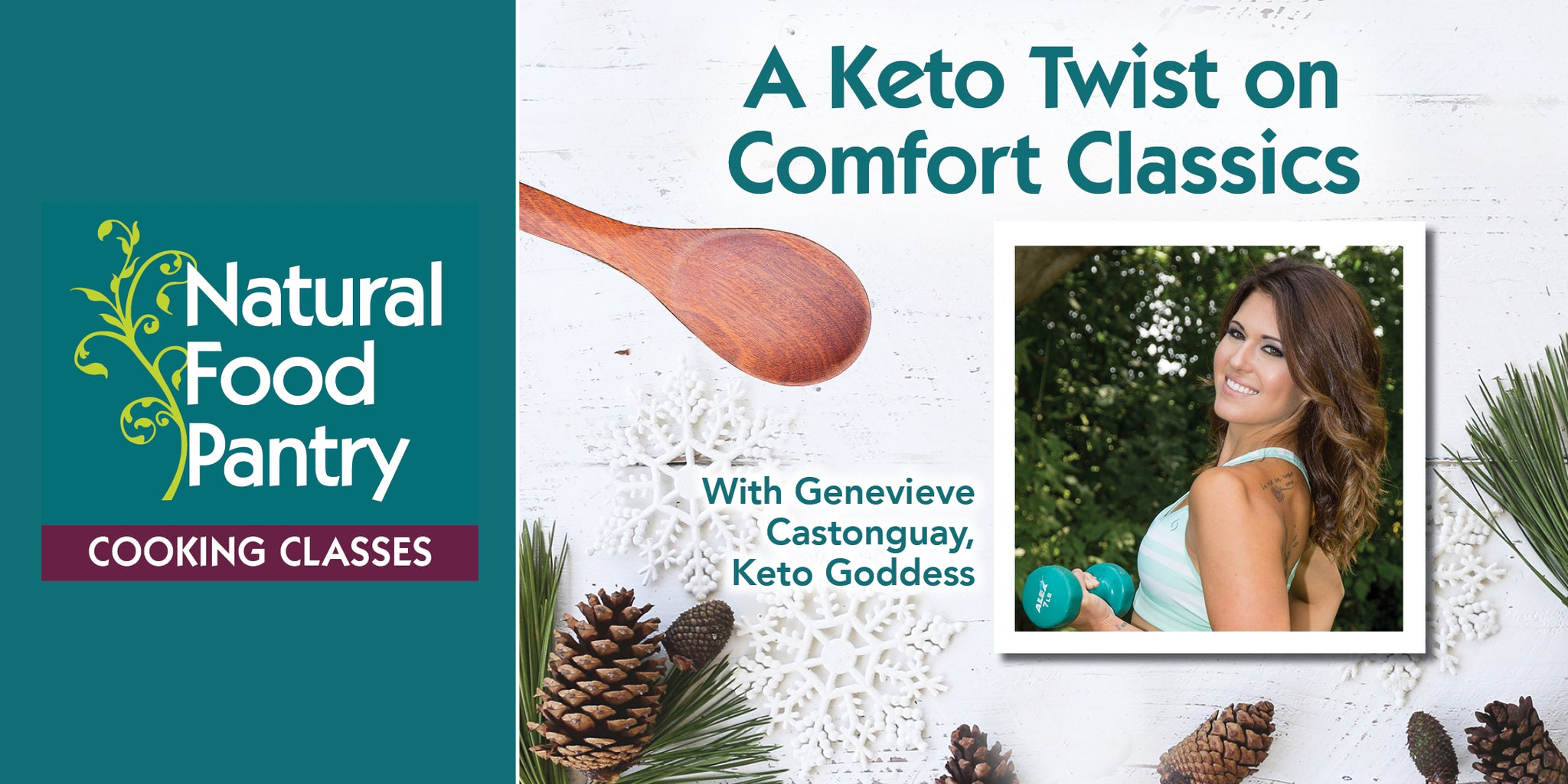 Jan 12: Cooking Class: A Keto Twist on Comfort Classics