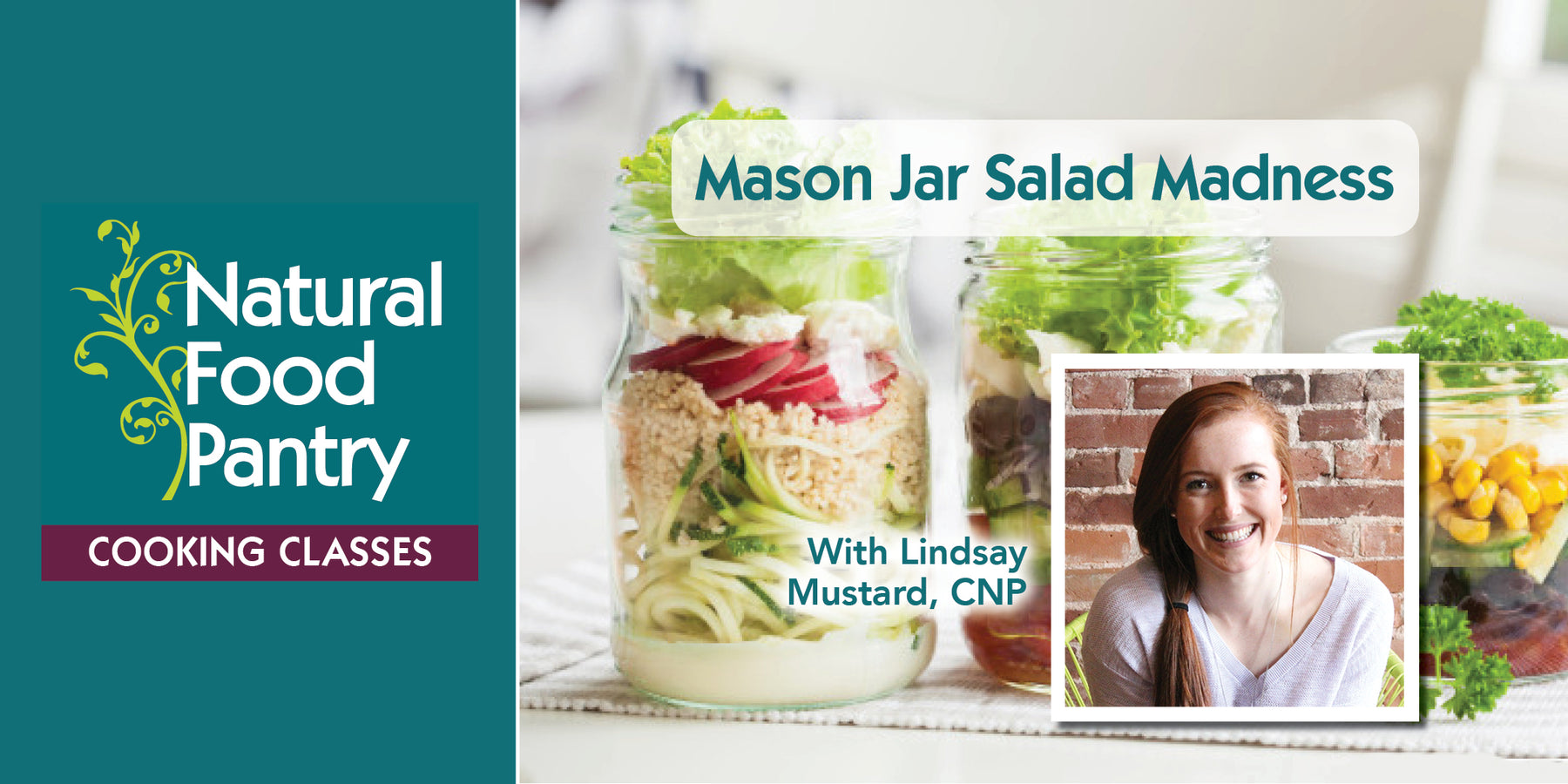 Jun 12: Mason Jar Salad Madness