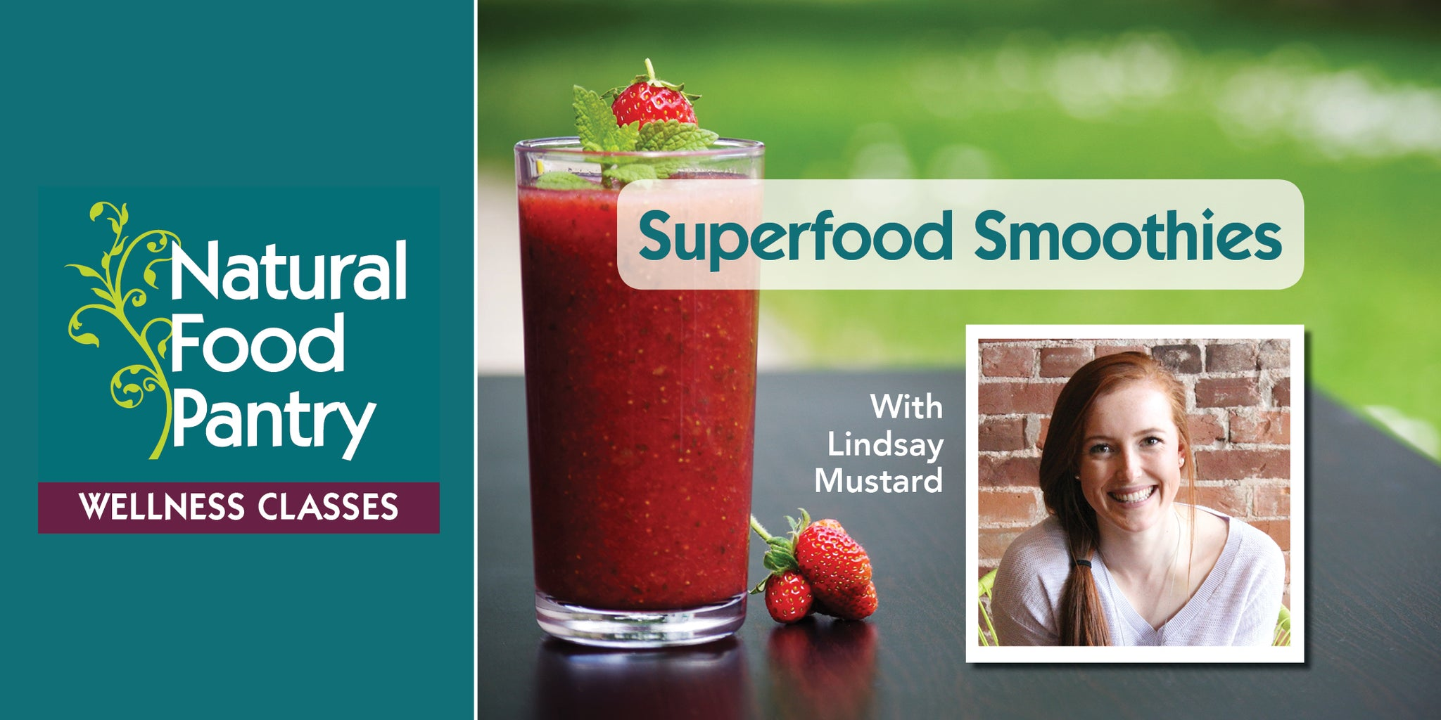 Apr 27: NFP Class - Superfood Smoothies!