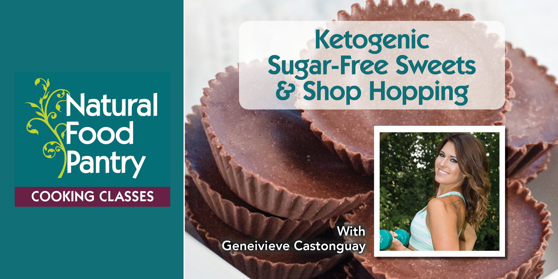 Mar 30: NFP Cooking Class: Ketogenic Sugar-Free Sweets & Shop Hopping