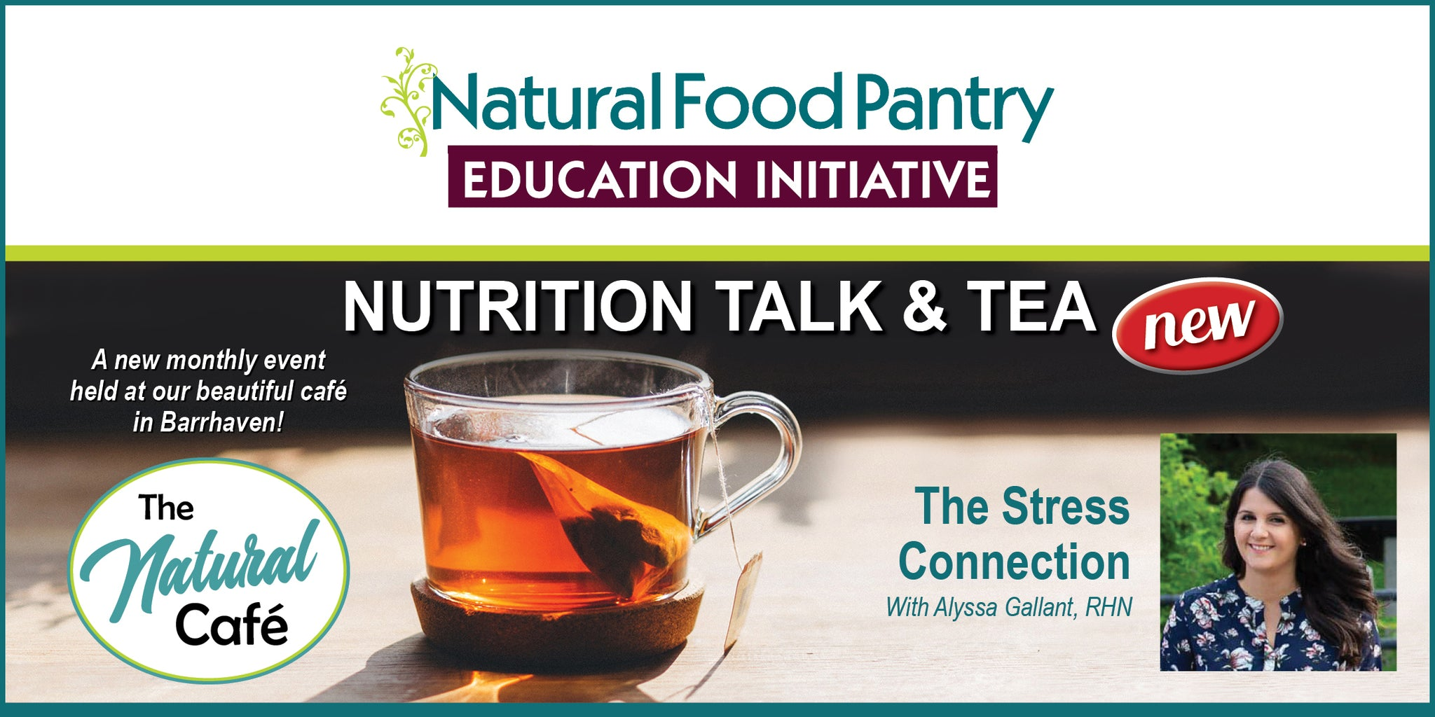 Sep 26: NFP Talk and Tea -  The Stress Connection